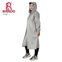 Áo mưa bít sườn BOSUR có nút bấm và dây kéo - RANDO