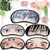 Bịt mắt CHÚ THUẬT HỒI CHIẾN JUJUTSU KAISEN miếng che mắt ngủ in hình anime chibi (MẪU GIAO NGẪU NHIÊN)