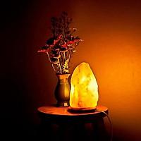 [ TQM] Đèn đá muối Himalaya Qaisar loại 3,3 kg thanh lọc không khí cho căn phòng