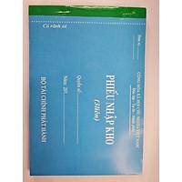 Combo 10 quyển Phiếu nhập kho 3 liên A5-100