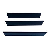 Kệ trang trí 3 thanh ngang KEGO 60 cm (3 Thanh màu đen)