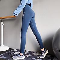 Quần tập Gym dành cho nữ nữ cạp lưng cao, co giãn 4 chiều, thoáng mát- K001