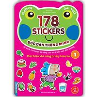 Bóc Dán Hình Thông Minh Phát Triển Khả Năng Tư Duy Toán Học IQ EQ CQ (3-4 Tuổi) - 178 Sticker (Quyển 1)