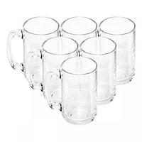 Bộ ly 6 cái Union Glass 315 Ly quai đại 380 ml  không ngã màu,  sản xuất Thái Lan