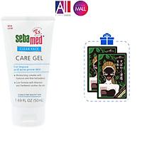 Gel dưỡng ẩm giảm mụn Sebamed pH 5.5 Clear Face Care Gel 50ml TẶNG mặt nạ tràm trà Sexylook (Nhập khẩu)