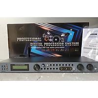 Vang số chỉnh cơ karaoke cao cấp X8 PLUS, có màn hình hiển thị, usb blutooth, chất âm cực đỉnh
