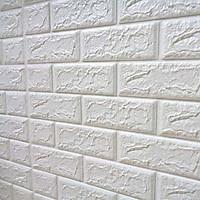 Xốp dán tường combo 15 tấm màu trắng gạch 3D
