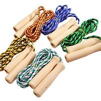 Dụng cụ nhảy dây cán gỗ