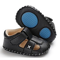 Giày sandal tập đi X trắng và đen