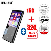RUIZU D25 MP3 Player Bluetooth-compatible 5.0 Audio Player Built-in Speaker 4 Inch Screen Portable Walkman With Recording E-Book Music Video Support TF Card Mini Music Player