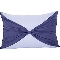 Vỏ gối nơ Sa Maison màu Botanic Blue 45*65cm