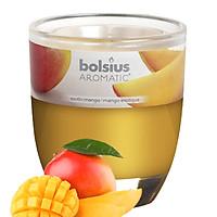 Ly nến thơm tinh dầu Bolsius Exotic Mango 105g QT024334 - hương xoài rừng
