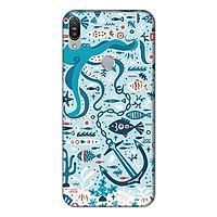 Ốp lưng điện thoại Asus Zenfone Max Pro M1 hình Cá Xanh
