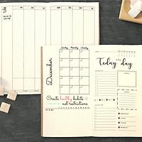 Sổ tay planner MIX TỔNG HỢP Tháng + tuần + ngày