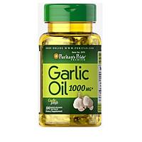 Combo 2 lọ Dầu tỏi phòng ngừa cảm cúm, tăng sức đề kháng Garlic Oil 1000mg Puritan's Pride