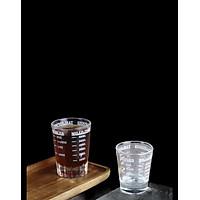 Ly Thủy Tinh Đong Định Lượng Espresso [ Vạch Chia Đen 30ml & 60 ml ]