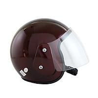 Mũ bảo hiểm 3/4 đầu có kính chính hãng BKtec