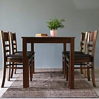 Bàn ăn 4 ghế phong cách Hàn Quốc - Perfect B106