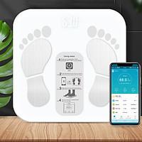 Cân Điện Tử Sức Khỏe Thông Minh Digital Body Fat Scale 2020 Phân Tích Lượng Mỡ...Sử Dụng App Tiếng Việt