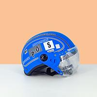 Mũ bảo hiểm có kính SPO - Mũ bảo hiểm nửa đầu có kính chống bụi thời trang