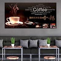 Tranh dán tường quán cà phê GDT-68