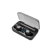 Tai Nghe Bluetooth 5.0 VINETTEAM V9 TWS Tai Nghe Không Dây Bluetooth Màn Hình Hiển Thị LED Tai Nghe Nhét Tai-Chống Nước IPX7 - Nghe 90h - Tích Hợp Micro - Tự Động Kết Nối - Tương Thích Cao Cho Tất Cả Điện Thoại-Hàng Chính Hãng