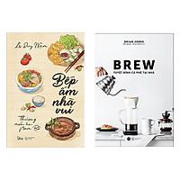 Combo Sách Bếp Ấm Nhà Vui - Thương Món Ăn Nam Bộ + BREW - Tuyệt Đỉnh Cà Phê Tại Nhà