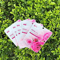 AMISILK KOREA ROSE MASK - Mặt nạ tinh chất Hoa Hồng (10 MASK)