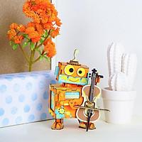 Mô hình Hộp nhạc Nghệ sỹ - AMD53 Little Performer Music Box