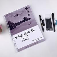 Combo vở tập viết chữ Hán - luyện viết chữ Hán (theo giáo trình Hán ngữ 6 quyển) - Tập 1 quyển Thượng
