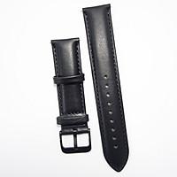 Dây da cho Galaxy Watch, Gear S2 - Đen (Size 20)