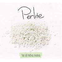 Đá Perlite (đá trân châu)-chất dinh dưỡng, điều hòa nhiệt độ độ ẩm cho đất trồng-thích hợp để trồng hoa, trồng hoa hồng,sen đá-35gr