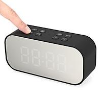 Loa Bluetooth Không Dây Kết Hợp Đồng Hồ Báo Thức Kép Màn Hình LED AEC BT501