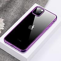 Ốp Lưng Silicone Trong Suốt Viền Mềm Mạ Crom Cho IPhone 11 / IPhone 11 Pro / IPhone 11 Pro Max -  Hàng Chính Hãng Cafele