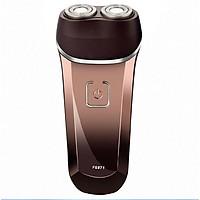 Máy cạo râu phong cách thời thượng sang trọng với 2 đầu cạo sát với đường cong khuôn mặt, thiết kế đầu cạo với 2 vòng xoáy cực linh động, đèn led chỉ thị sạc pin thích hợp cho các bạn nam - FS871