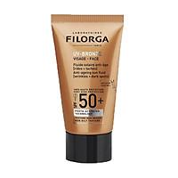 Filorga UV-Bronze Sun Fluid SPF50+ - Kem chống nắng chống lão hoá da & các đốm nâu 40ml