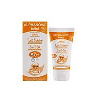 Kem chống nắng hữu cơ cho bé SPF50 Alphanova BeBe 50g