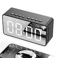 Loa Bluetooth Mặt Gương Kiêm Đồng Hồ Báo Thức BT506 V5.0 - Có Khe Cắm Thẻ Nhớ - Hàng Chính Hãng