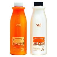 Uốn tóc thảo dược đa năng uốn nóng và uốn lạnh Mugens Enzyme Multi Texture Perm 2 x500ml