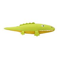 Gối Ôm Hình Con Cá Sấu Hometex - Xanh Cốm (95 x 30 cm)