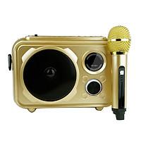 Loa Bluetooth Karaoke  Có Mic Cực Hay Chất Lượng CBVN SD-510 SF177 - Hàng Chính Hãng