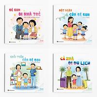 Combo 4 cuốn Ehon Kỹ năng: Truyện của Bon