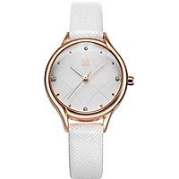 Đồng hồ nữ chính hãng Shengke Korea K8013L-05 Trắng
