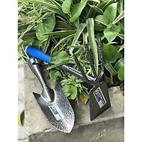 Bộ 2 dụng cụ làm vườn cỡ trung chính hãng Cmart A0706&0707 tặng găng tay làm vườn kháng khuẩn