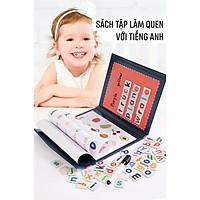 Bộ Sách Nam Châm 26 Chữ Cái Cho Bé, Bộ Sách Cho Bé Học Ghép Chữ Và Số