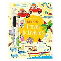 Sách tẩy xóa tiếng Anh - Usborne Travel Activities