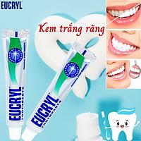 Kem Đánh Răng Trắng Răng Eucryl Tooth Paste - 2 Tuýt x 62g Nhập Khẩu Anh
