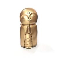 Tượng Đá Chú Tiểu An Yên N2 (Màu Nhũ Vàng)