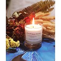 No. 07 Sweet Dreams - nến thơm cao cấp bằng sáp ong và hỗn hợp tinh dầu: hoa oải hương, cỏ xạ hương, hương thảo
