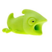 Nút gắn bảo vệ dây cáp sạc cable bite thú cắn cáp sạc hình động vật hoạt hình